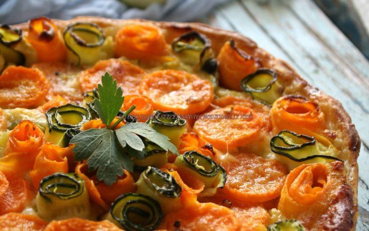 torta rustica zucchine e carote