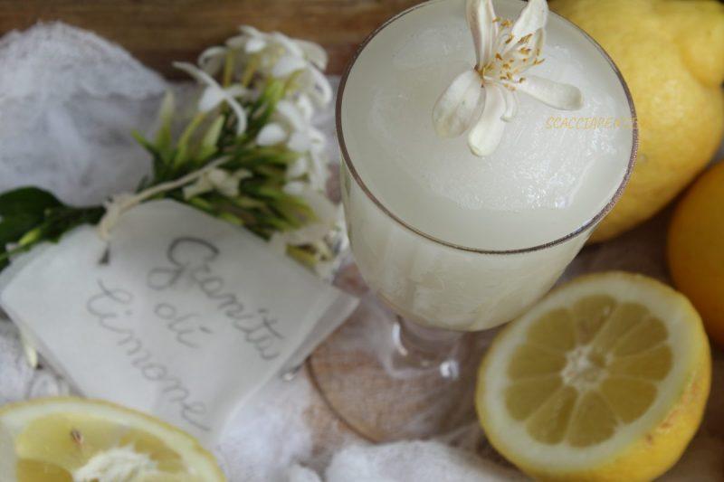Granita di Limone fatta in casa – ricetta siciliana, come la faceva la nonna –