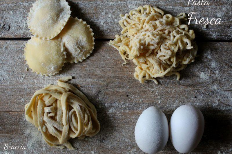 """Pasta """"ri casa"""" o pasta fresca fatta in casa – ricetta della nonna –"""