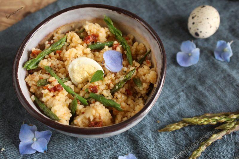 Cous Cous al Curry asparagi e ragusano…