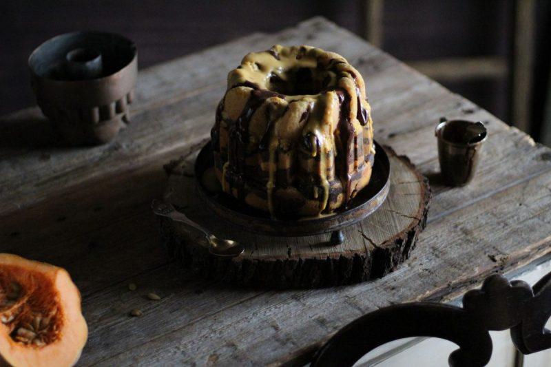 Zebra Bundt cake zucca e cacao…