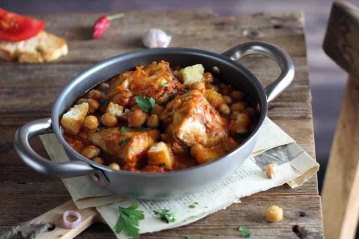 Zuppa di Merluzzo e ceci, un gustoso comfort food!