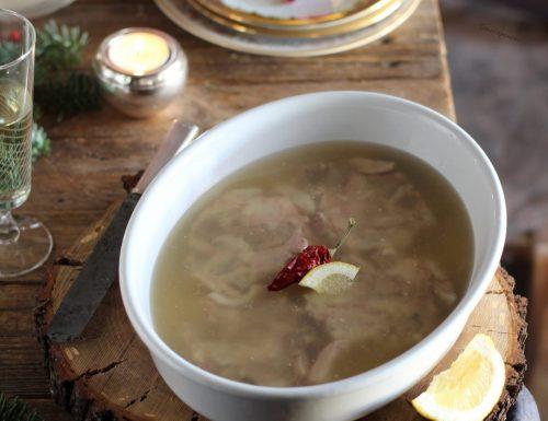 Gelatina di maiale fatta in casa, (a liatina) ricetta siciliana