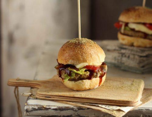 Burger buns con lievito madre, i panini per hamburger…