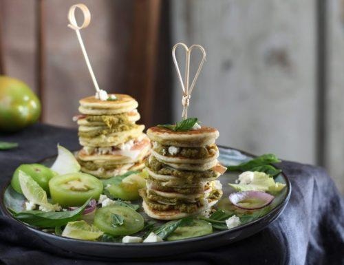 Mini pancake salati, sfizioso aperitivo