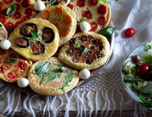 Mediterranean Pancakes, aperitivo sfizioso