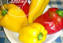 ricetta peperonata olive capperi acciughe