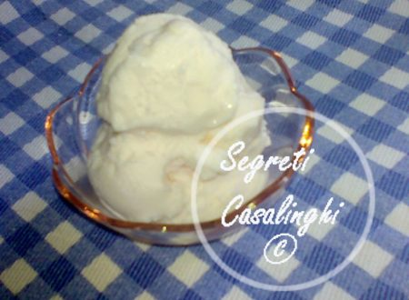 gelato gusto panna