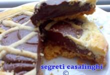 ricetta crostata cioccolato fondente