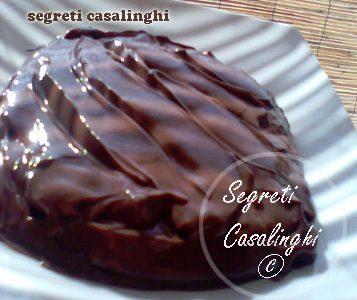 budino cioccolato casalingo colazione merenda