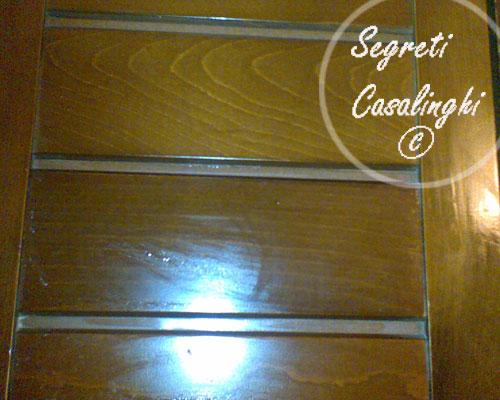 pulire mobili antichi legno