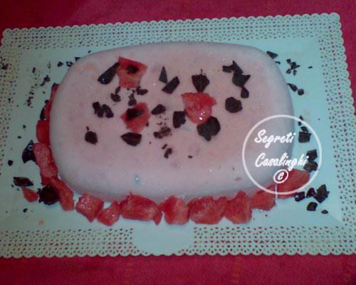 torta gelata anguria