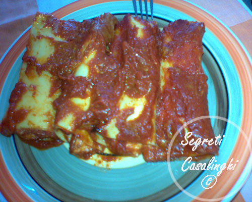 ricetta cannelloni napoletani