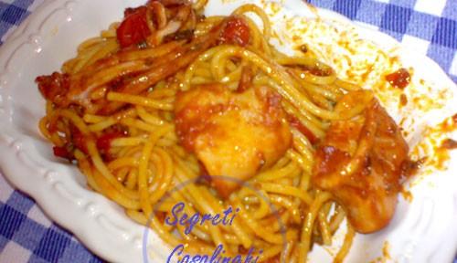 spaghetti calamari
