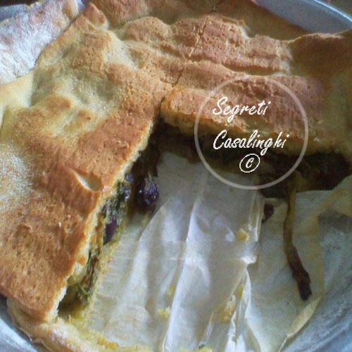 torta scarola olive