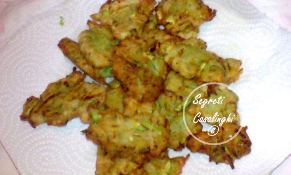 frittelle zucchine