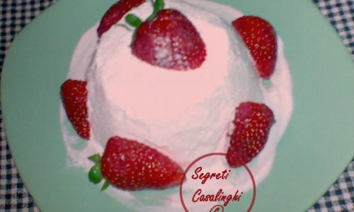 mousse fredda fragole