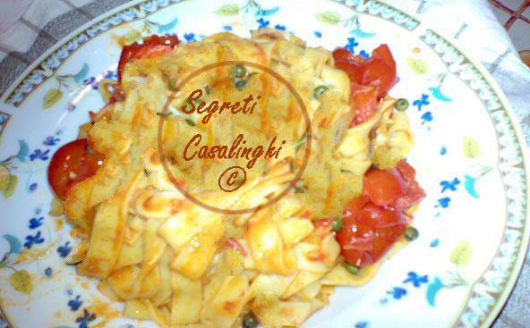 tagliatelle casalinghe pomodoro