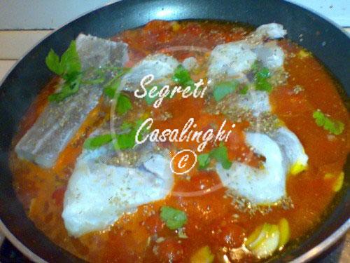 ricetta baccala salsa