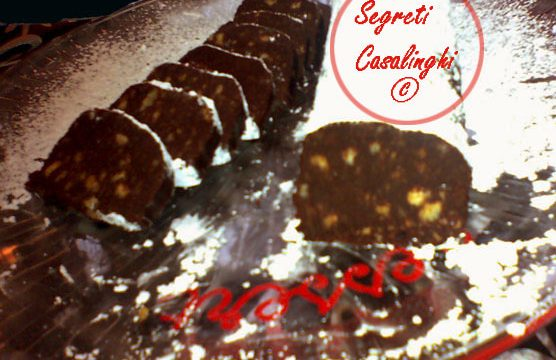tronchetto cioccolato natalizio