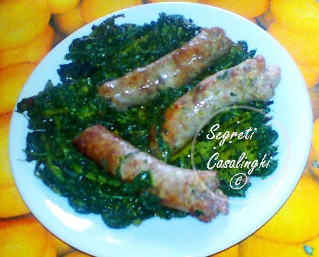 broccoli salsicce