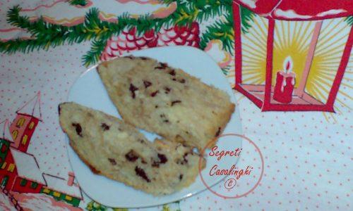 panettoncino natalizio gocce cioccolato