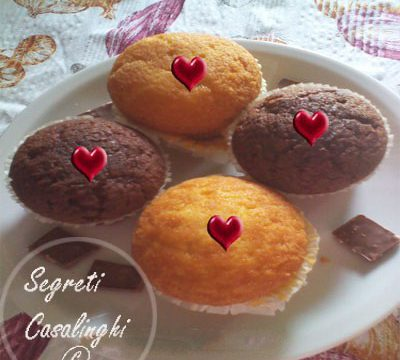muffin semplici festa innamorati