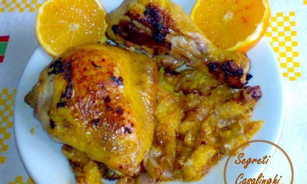 pollo arancia