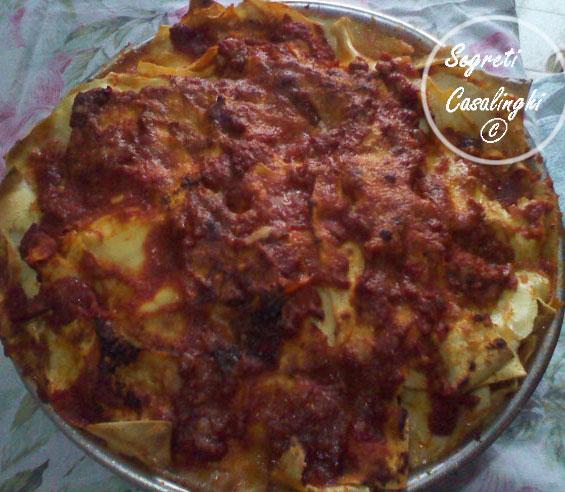 lasagna napoletana carnevale