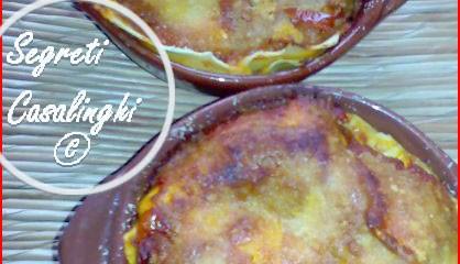 lasagna carnevale terracotta