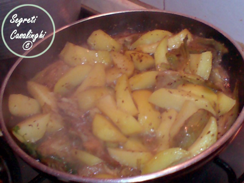 ricetta carciofi patate