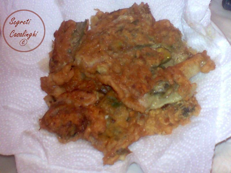 ricetta carciofi indorati fritti