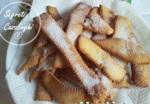 chiacchiere frappe carnevale