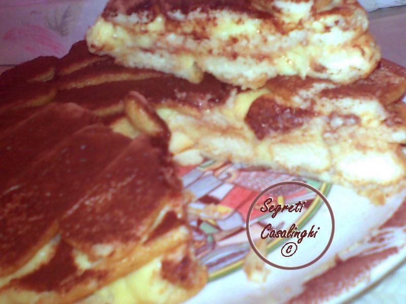 ricetta torta biscotti lingue gatto mascarpone