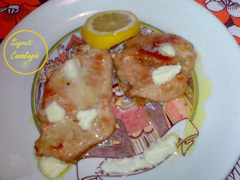 ricetta petto pollo burro limone