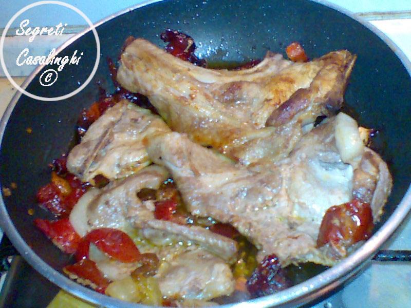 ricetta carne maiale peperoni