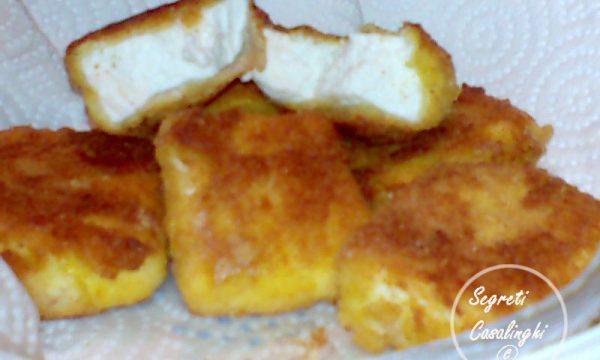 ricetta ricotta fritta facile uova