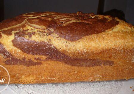 plumcake marmorizzato vegan
