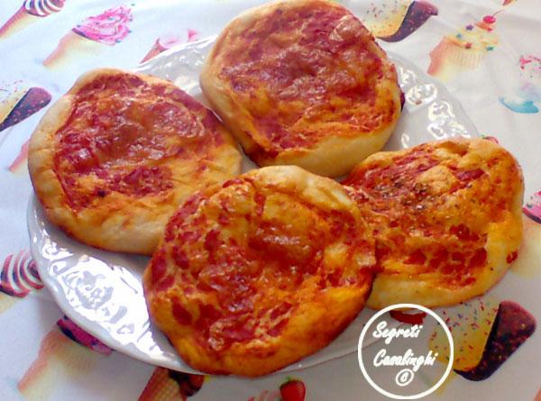 pizzette napoletane forno