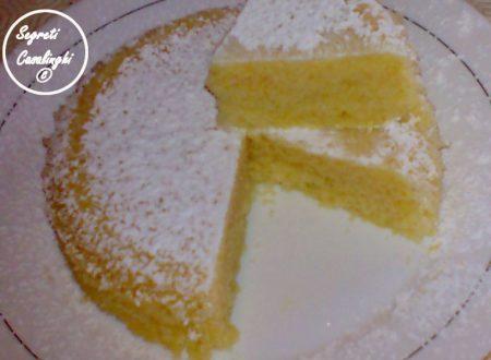 torta acqua microonde