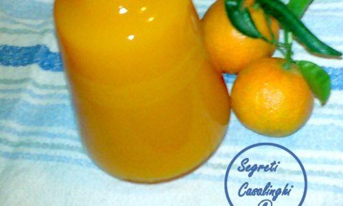 crema liquore mandarino