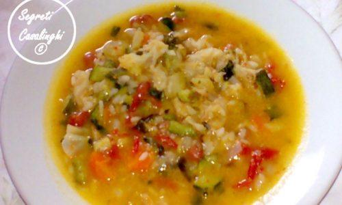minestrone riso