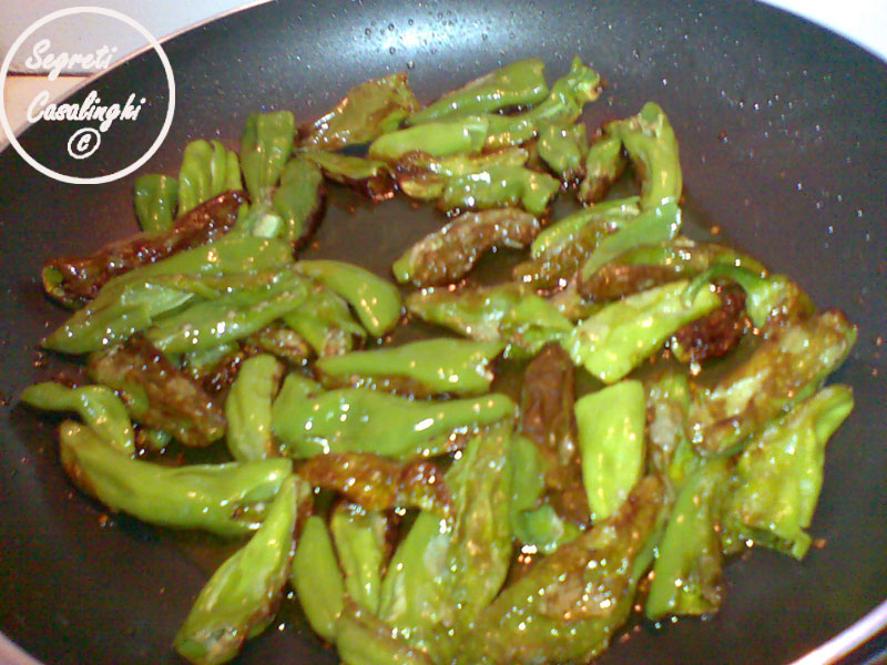 peperoncini verdi pomodorini