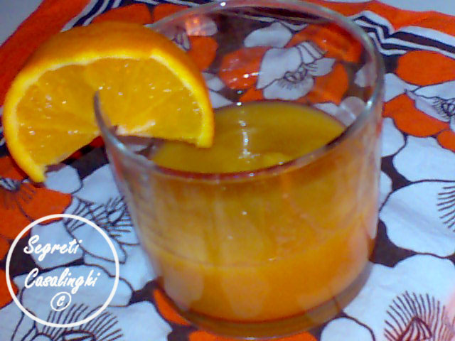 crema arance