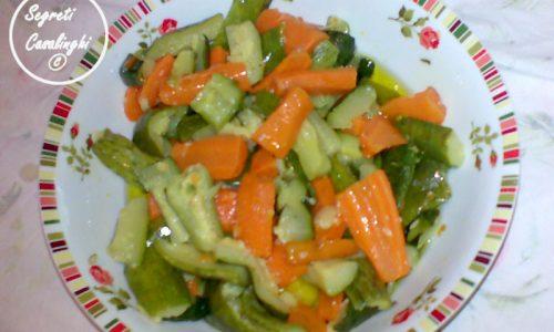 carote zucchine