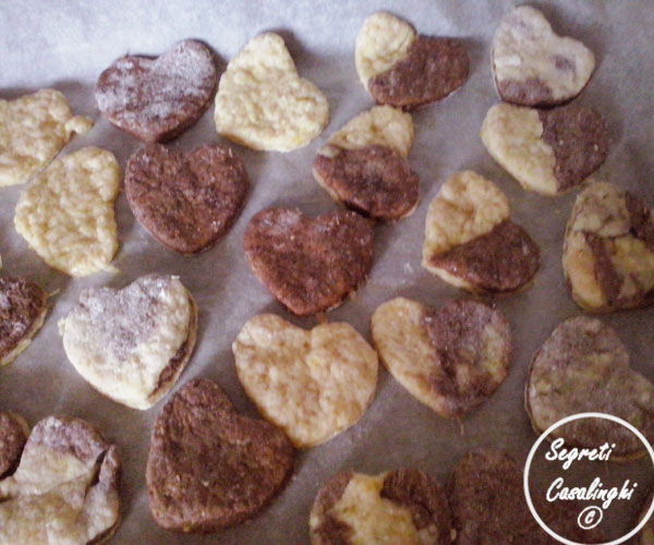 biscotti bicolori vegan