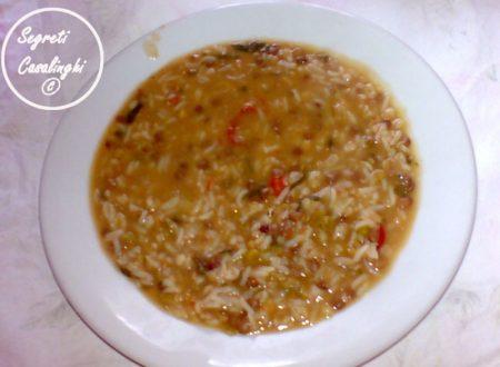 zuppa lenticchie orzo perlato