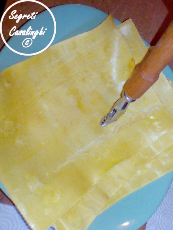 riciclo pasta lasagna