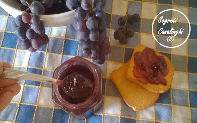 marmellata uva fragola