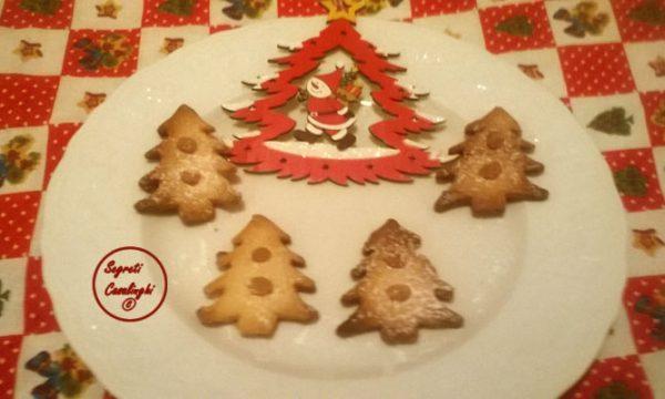 biscotti alberelli miele